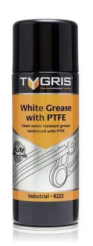 R223 White Grease With PTFE Spray 400ml