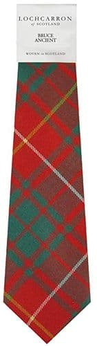 100% Bruce Ancient Clan Tie- Made in Scotland Brand New