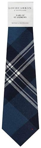 100% Earl Of St Andrews Clan Tie- Made in Scotland Brand New