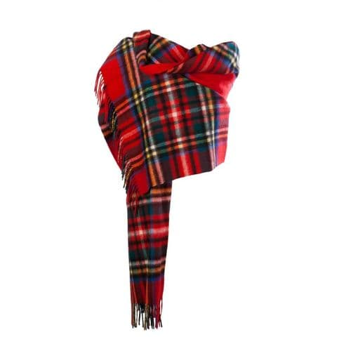 EDINBURGH LAMBSWOOL STOLE STEWART ROYAL