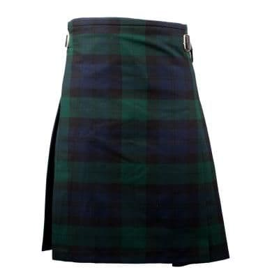 GENTS LIGHTWEIGHT PARTY KILT BLACK WATCH