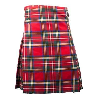 GENTS LIGHTWEIGHT PARTY KILT STEWART ROYAL