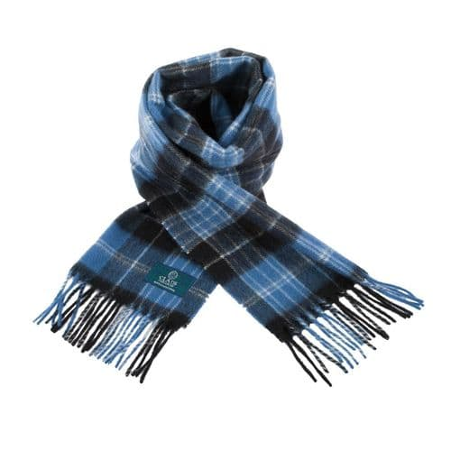 Lambswool Scottish Tartan Clan Scarf Clark Ancient