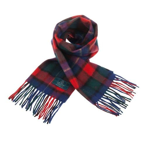 Lambswool Scottish Tartan Clan Scarf Kilgour