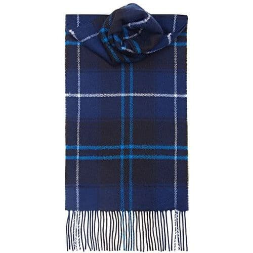 THE PATRIOT MODERN TARTAN LAMBSWOOL SCARF