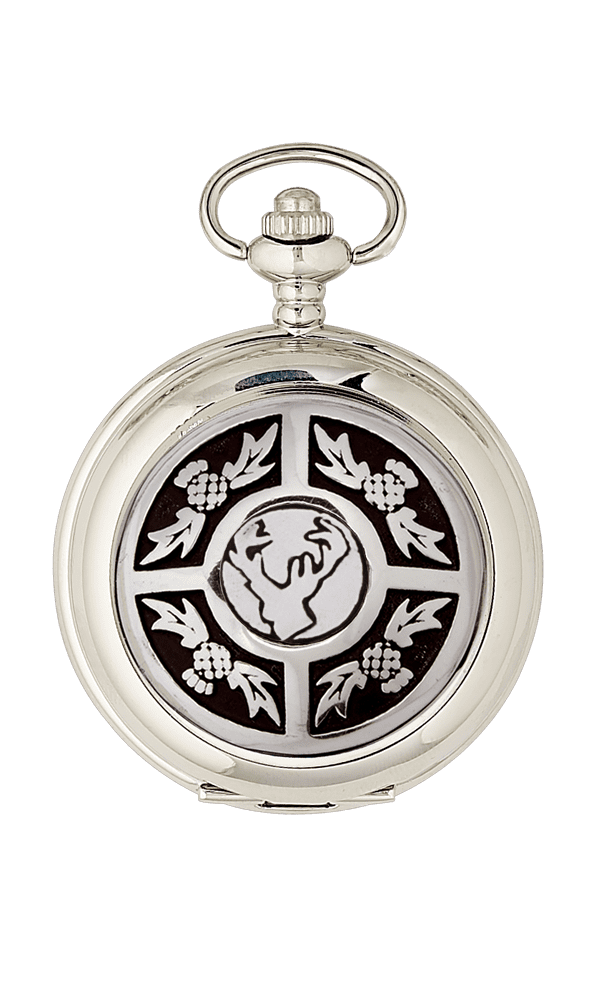 Thistle & Stag Mechanical Pocket Watch PW113M