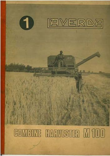 Laverda Combine M100 Operators Manual