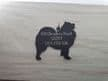 Custom made Dog Tag  Handmade by saw piercing and Engraved
