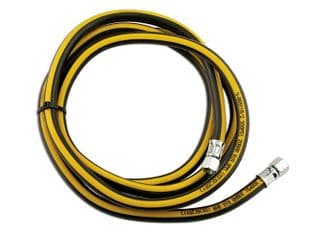 "Connect 35170 Tyre Gauge Air Hose  1/4"" ID x 2.7m"