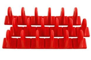 Power-Tec 92346 Red Multipads 6x22 Pack of 3
