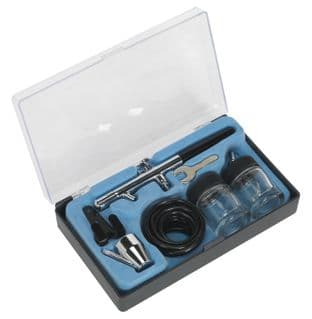 Sealey AB932 Air Brush Kit Professional without Propellant
