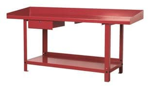 Sealey AP1020 Workbench Steel 2m with 1 Drawer