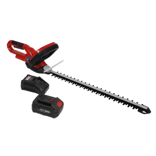 Sealey CHT20VCOMBO4 Hedge Trimmer Cordless 20V with 4Ah Battery & Charger
