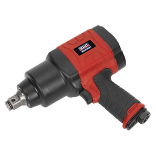 """Sealey GSA6004 Composite Air Impact Wrench 3/4""""Sq Drive - Twin Hammer"""