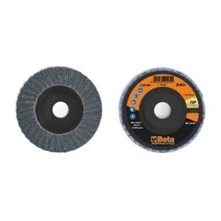 Beta 11214A P60 Double Flap Discs With Zirconia Abrasive Cloth