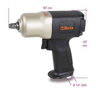 """Beta 1924CD 3/8"""" Drive Reversible Impact Wrench, Made From Composite Material"""