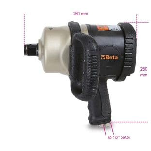 """Beta 1930CD 1"""" Drive Reversible Impact Wrench, Made From Composite Material"""