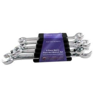 Britool Hallmark REFMSET5 5 Piece Metric Flare Nut Wrench Set