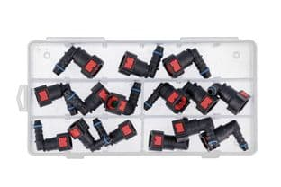 Connect 34228 Assorted AdBlue® Angled Quick Connectors 15pc