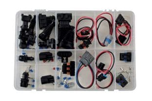 Connect 37340 Assorted Connector & Harness Repair Kit 21 Sets