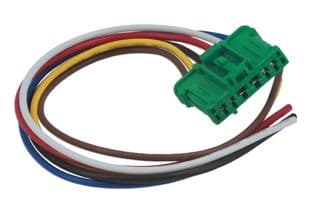Connect 37580 Electrical Heater Resistor Connector To Suit Renault - Pk 2