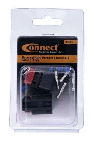 Connect 37603 Electrical Multipurpose 2 Pin Connector To Suit Volvo - Pk 2