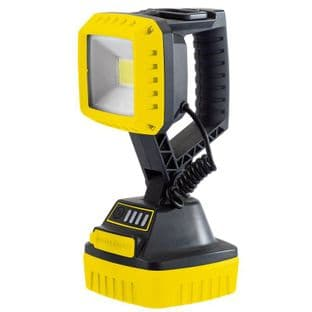 Draper DR90049 10w COB LED Rechargeable Worklight (Yellow)