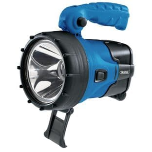 Draper DR90081 5w CREE LED Rechargeable Hand Torch/Spotlight