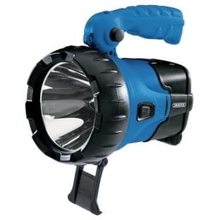 Draper DR90091 10w CREE LED Rechargeable Hand Torch/Spotlight