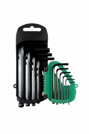 Kamasa 56127 10 Piece Ball End Hex Key Set