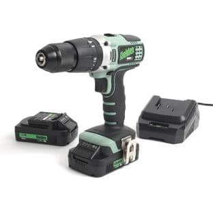 Kielder KWT-001-17 18V Brushless Combi Drill With 2 2Ah Battries