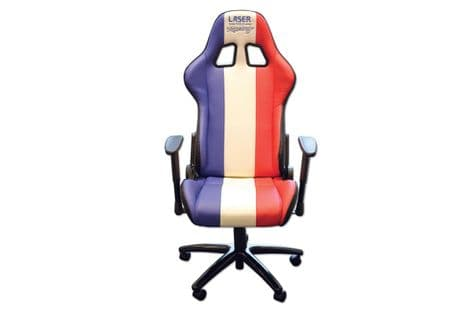 Laser 6656 Laser Tools Racing Chair Red/White/Blue