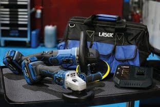 Laser 69010 Cordless Tools 20V Bodyshop Kit