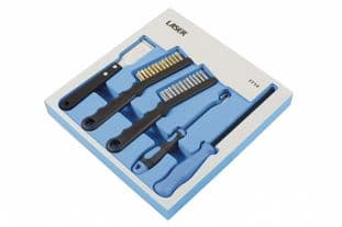 Laser 7714 5 Piece Brake Component Cleaning And Inspection Kit