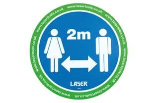 Laser 8054 Laser Tools Floor Sticker 6pc