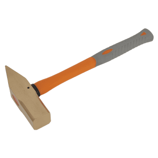Sealey NS080 Cross Pein Engineer's Hammer 4.4lb Non-Sparking