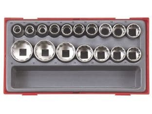 "Teng TT1217 17 Piece 1/2"" Drive Socket Set"