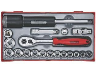 "Teng TT3819 19 Piece 3/8"" Drive Socket Set"