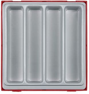 Teng TTD00 Double Storage Tray - 4 Compartments