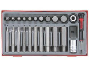 Teng TTHEX23 23 Piece Hex Bit Set
