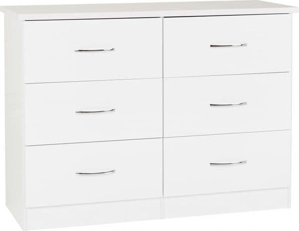 Nevada 6 Drawer Chest