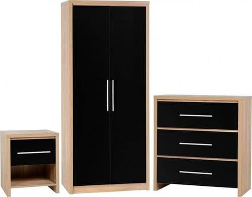 Seville Bedroom Set BLACK