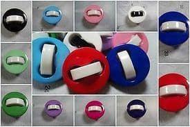 A246-23mm UNIQUE SHANKED ITALIAN PLASTIC BUTTONS - price is for 4 buttons