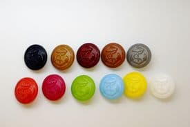 C2008-20mm- CLASSIC ANCHOR SHANKED PLASTIC BUTTONS-COLOUR SELECTION - price is for 5 buttons