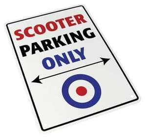 Parking Sign - Scooter Parking Only
