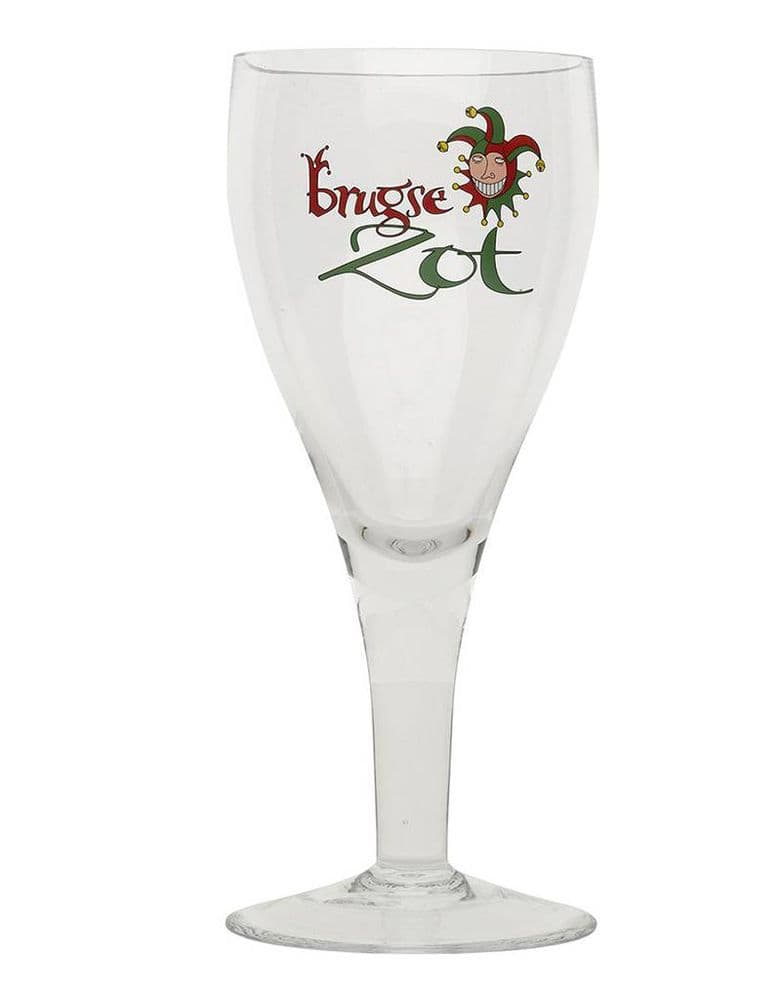Brugse Zot Chalice Pint Glass
