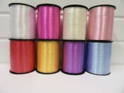 * 2 metres or full roll 5mm Curling Florist Balloon Ribbon Double sided 5mm