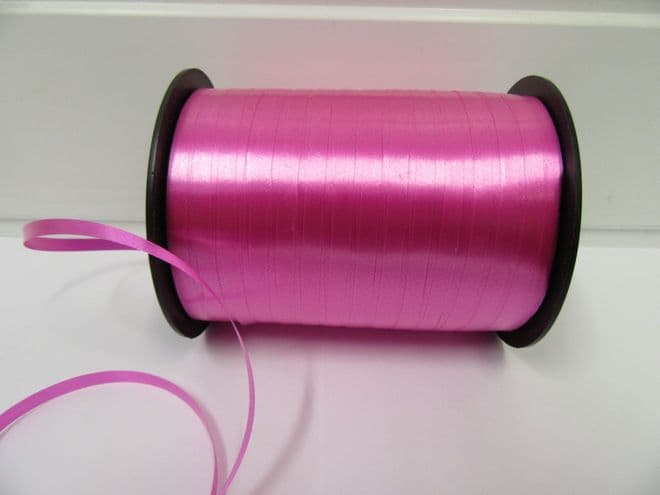 2 metres or full roll 5mm Barbie Pink Curling Florist Balloon Ribbon Double sided 5mm