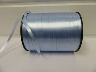 2 metres or full roll 5mm Light Baby Blue Curling Florist Balloon Ribbon Double sided 5mm