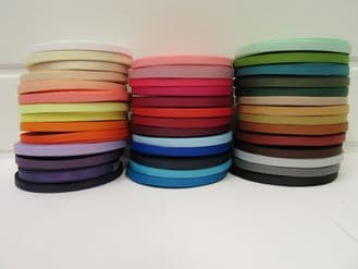 6mm Grosgrain Ribbon 2 metres or 20 metre roll double sided Ribbed